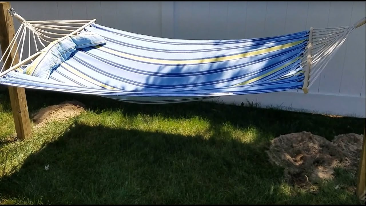 hammock set one for watch as person tent ground up tarp no trees