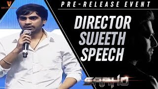 Director Sujeeth Speech | Saaho Pre Release Event | Prabhas | Shraddha Kapoor | UV Creations