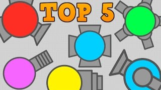 DIEP.IO TOP 5 UNDERRATED TANKS!! // Epic Diep.io Gameplay (Diepio)