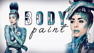 BODY PAINT-RYM RENOM-MERY MAKE UP👌