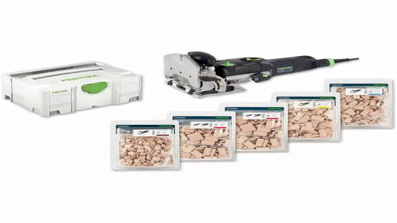 190-Pack Festool 494939 Domino Tenon Beech Wood 6 x 20 x 40mm
