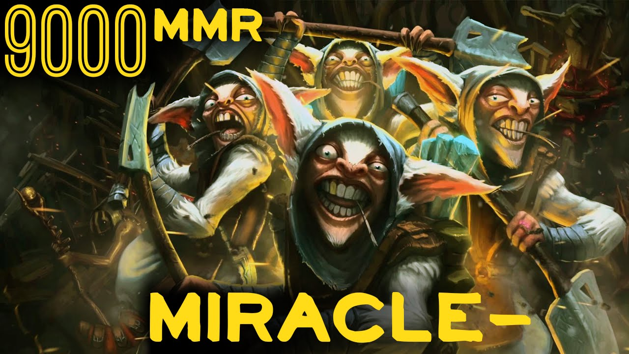 9000 mmr miracle meepo rated game dota 2 full game hd ti6