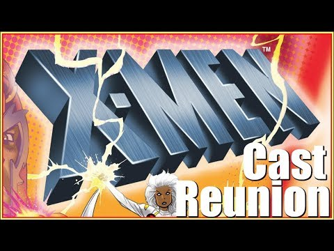 X-Men The Animated Series Cast Reunion at Hill Country Comic Con 2019