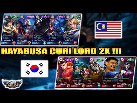 WTF !!! HAYABUSA CURI LORD MALAYSIA 2X !!! MALAYSIA VS KOREA - ARENA CONTEST