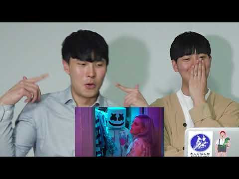 KOREAN BOYS Reaction To MARSHMELLO & MARIE - FRIENDS!!!