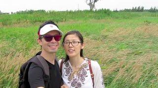 Shanghai Vlog: ChongMing Island DongTan Wetland Park!