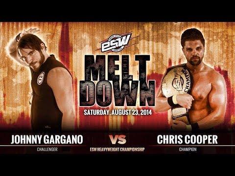 2014-08-23 Johnny Gargano vs. Chris Cooper -  Empire State Wrestling (ESW)