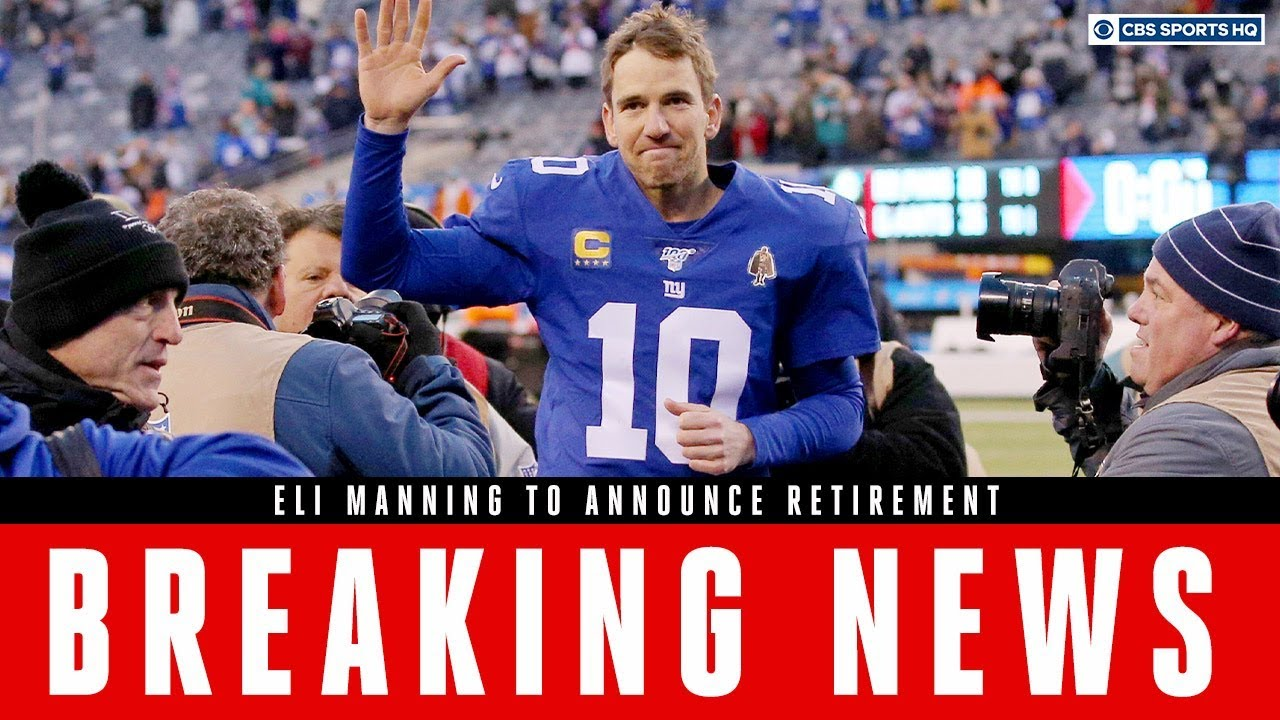 New York Giants quarterback Eli Manning retiring after 16-season ...