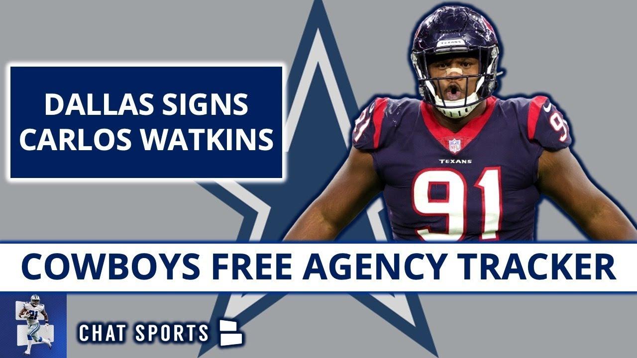 Cowboys News: Carlos Watkins Signs In NFL Free Agency, Blake Bell To Chiefs Jourdan Lewis Contract