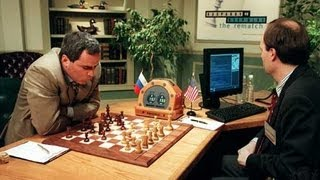 kasparov beats deep blue 1 0 in 1997 game 1