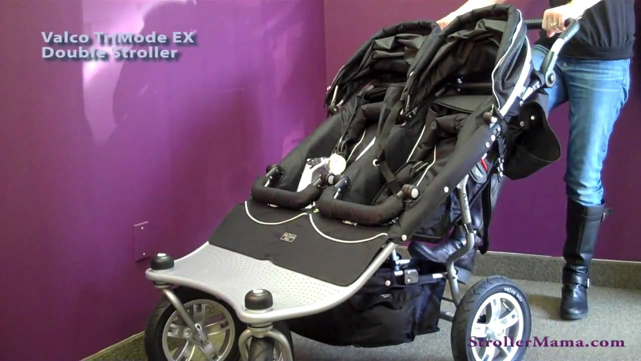 Valco Double Stroller