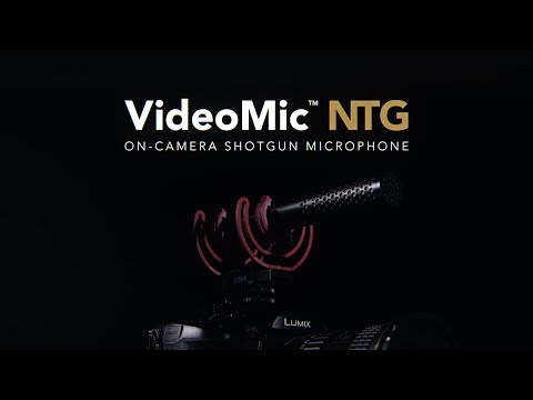 Rode announces VideoMic NTG, a 'hybrid' microphone with 'broadcast-quality' sound