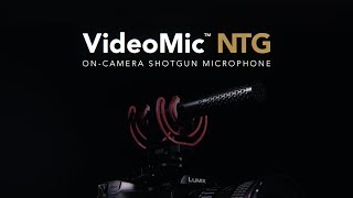 Features and Specifications of the VideoMic NTG On-Camera Shotgun Microphone