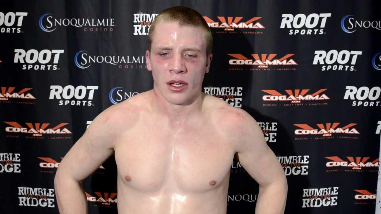 Frank Ramsey Post Fight Rumble on the Ridge XXII