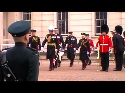 The Major Generals Inspection of The Band of the Coldstream Guards -  February 2018