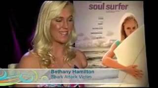 The Real Bethany Hamilton Surfing