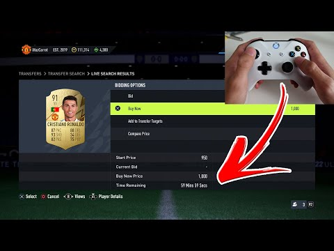 FIFA 22   HOW TO SNIPE PLAYERS *FAST* (BEST METHOD – FIFA 22 HOW TO SNIPE FASTER ON CONSOLE)
