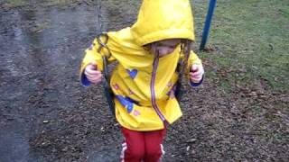 Swinging in the rain with Julia Dolan