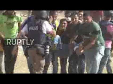 State of Palestine:Match of return rally in Gaza ends in Crisis,with over 15 injury cases