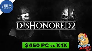 Xbox One X vs GTX 1060 at 4K - Dishonored 2