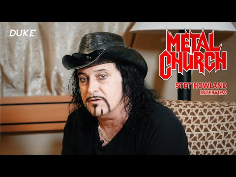 Stet Howland (Metal Church / ex. W.A.S.P.) Interview - Las Vegas 2017 - Duke TV [VOSTFR]