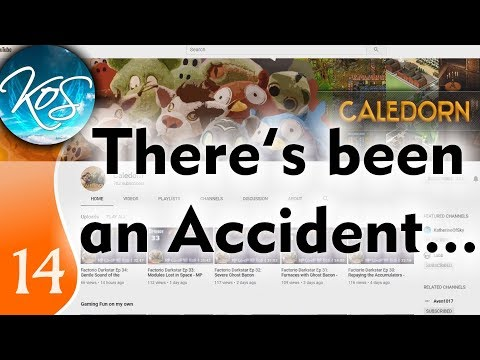 KatherineOfSky Vlog 14: CALEDORN HAS HAD AN ACCIDENT! 2018-11-13