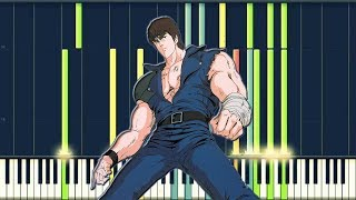 Hokuto no ken - Ai wo Torimodose (You wa shock) Synthesia