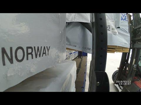 Ч-1 Как грамотно крепить груз (Дальнобой по Скандинавии)