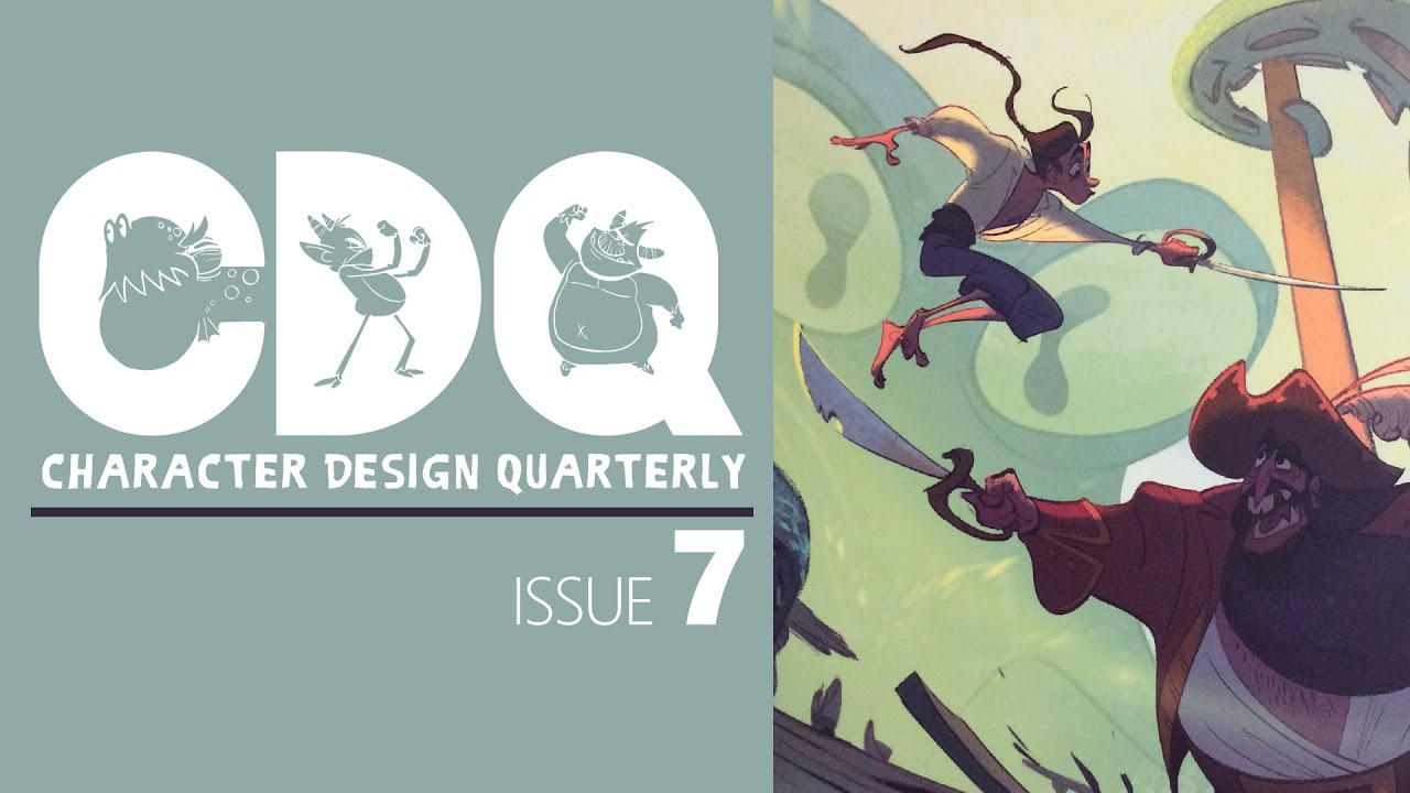 Cdq Character Design Quarterly Magazine Issue 7 Quick Look