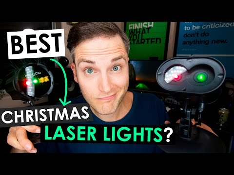 Best Christmas Laser Lights — Top 3 Outdoor Laser Christmas Lights