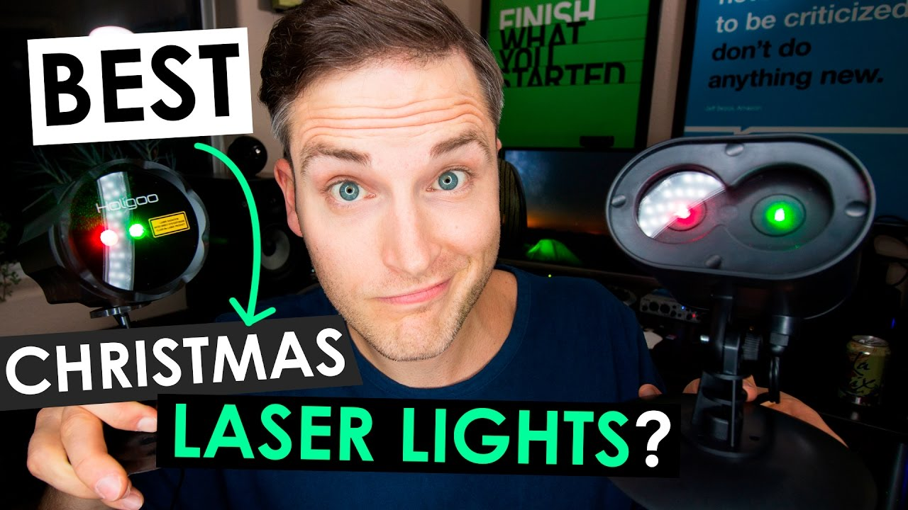 best christmas laser lights top 3 outdoor laser christmas lights youtube
