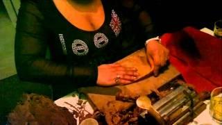 Изготовление кубинских сигар