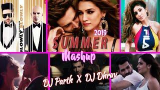 SUMMER MASHUP 2019 - DJ PARTH X DJ DHRUV X P.N.Visuals.