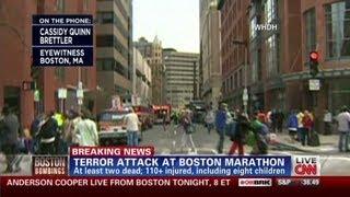 Eyewitness: 'Blood everywhere' in Boston