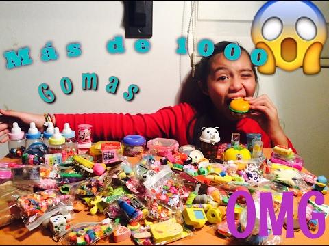 Mi colección de gomas de borrar (más de 1000 gomas😱