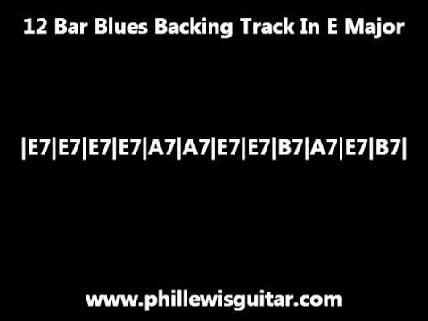 12 Bar Blues Backing Track In E Major