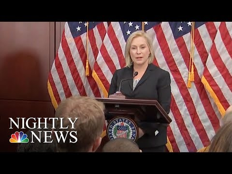Democrats Rally Behind Gillibrand After Donald Trump's 'Sexist Smear' On Twitter | NBC Nightly News