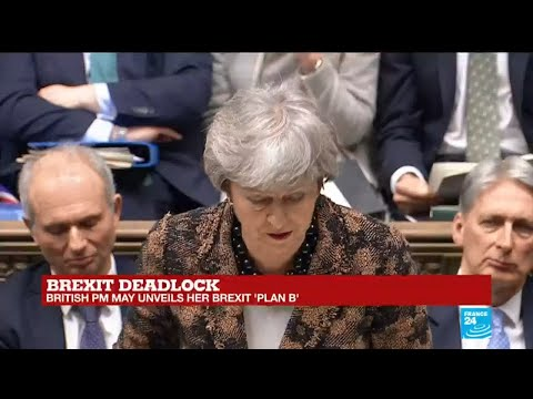 Brexit deadlock: PM Theresa May discusses opposition's support for second referendum