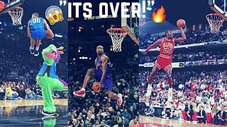 """NBA Dunk Contest """"Out of This World Moments"""" ᴴᴰ"""