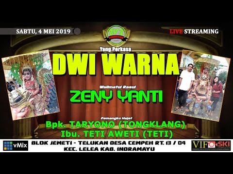 LIVE SANDIWARA DWI WARNA   JEMETI CEMPEH LELEA   SABTU, 4 MEI 2019   MALAM