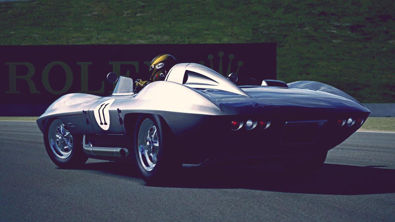Gt6 Chevrolet Corvette Stingray Racer Concept 59 Exhaust Comparison