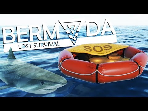 Life on a RAFT! - SURVIVING and CRAFTING in the OCEAN! - Bermuda - Lost Survival Game
