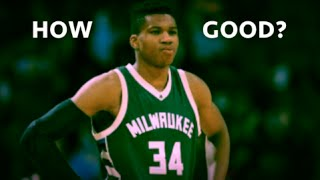 Just how good is giannis antetokounmpo (the greek freak)? giannis highlights!
