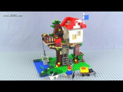 LEGO Creator Tree House 31010 adv. build review!