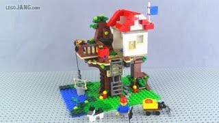 Lego Creator Tree House 31010 Adv. Build Review!