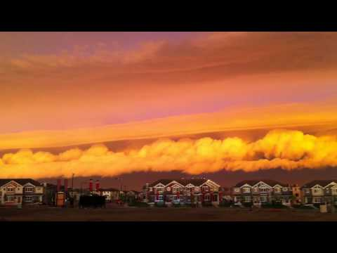 Relaxation Meditation (Storm Over South Edmonton Canada) 嵐