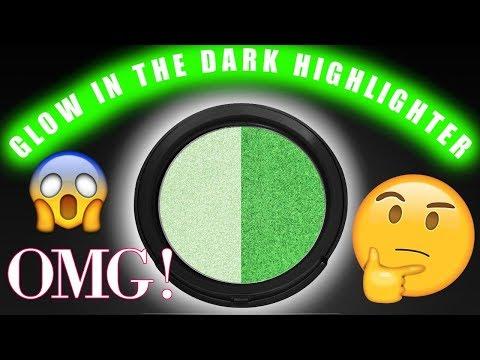 GLOW IN THE DARK HIGHLIGHTER! Does It Work? | Jordan Byers