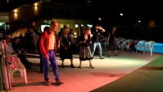Вечерние рядные танцы в Розетто дельи Абруцци 2015