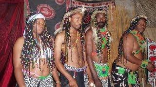 Zulu sangoma and spirit healing ceremony