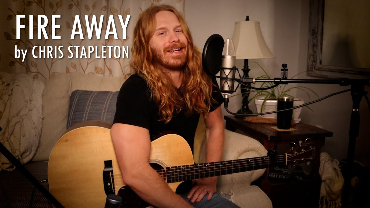 """""""Fire Away"""" by Chris Stapleton - Adam Pearce (Acoustic Cover)"""